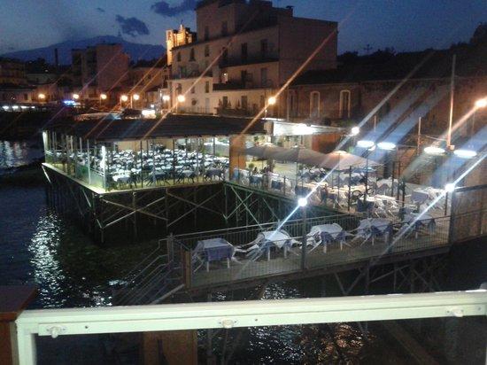 vista dalla terrazza - Bild von Il Porticciolo, Acireale - TripAdvisor