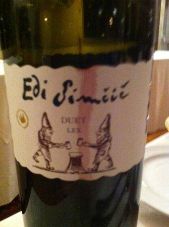 Vinoteka Movia : Best wine I tried there