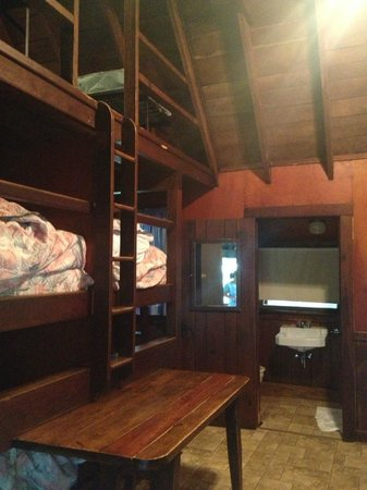 Cacapon Resort State Park: Inside of the Cabin
