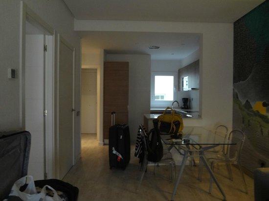 Eric Vokel Boutique Apartments - Gran Via Suites: sala/cozinha