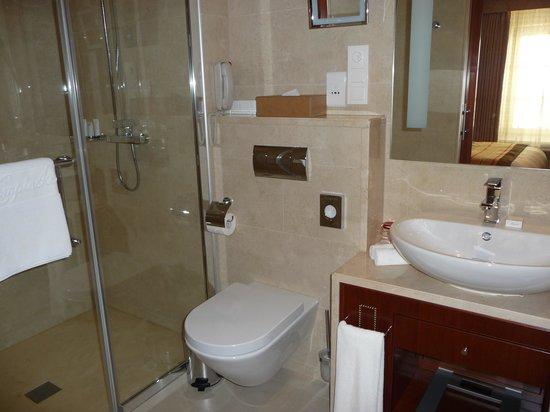 Kempinski Hotel Cathedral Square : Banheiro do quarto 336
