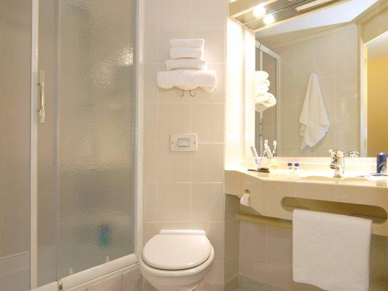 Kyriad Saint Etienne Centre : La salle de bain