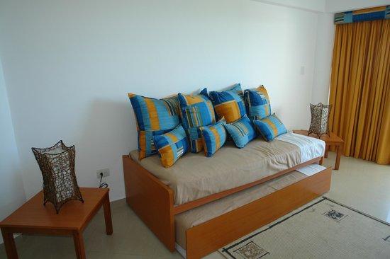 SUNSOL Caribbean Beach: Sofa-bed