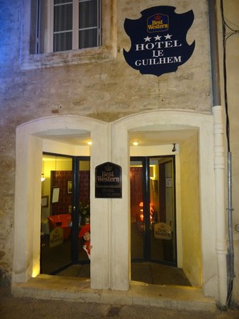 Best Western Hotel Le Guilhem : Fachada do Hotel
