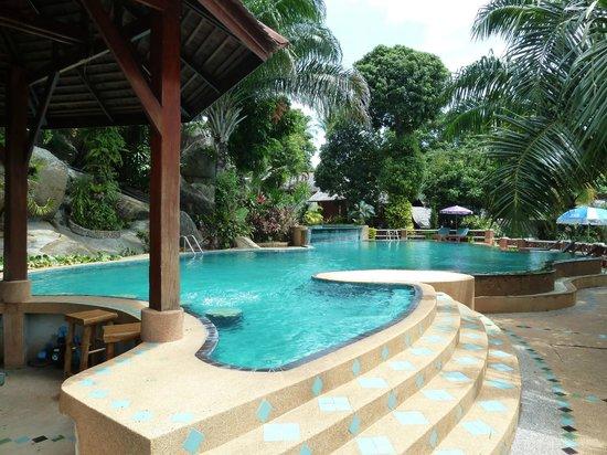 Searine Samui Boutique Resort : piscine