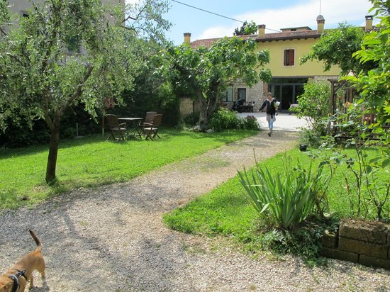 La Camaldola B&B: Hotel and garden
