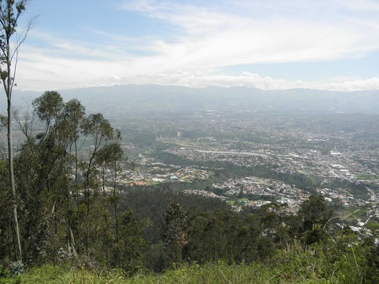 Parque Metropolitano: Here you see valleys