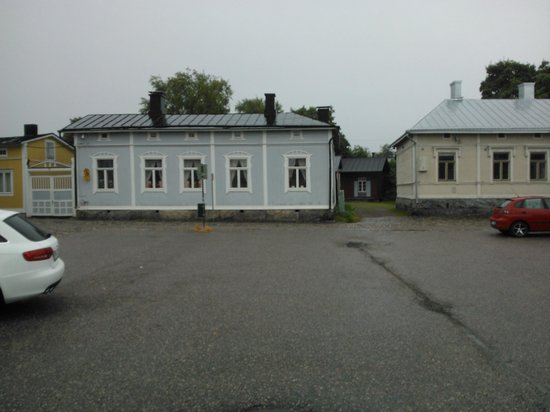 Old Rauma: one of the free parking areas