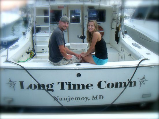 Long Time Com'n Charters & Sportfishing: engagement photo shot