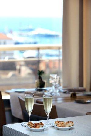 Club Maintenon: Vue du Restaurant