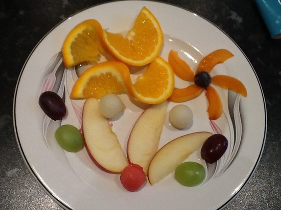 Waverley Guest house: Fresh healthy option