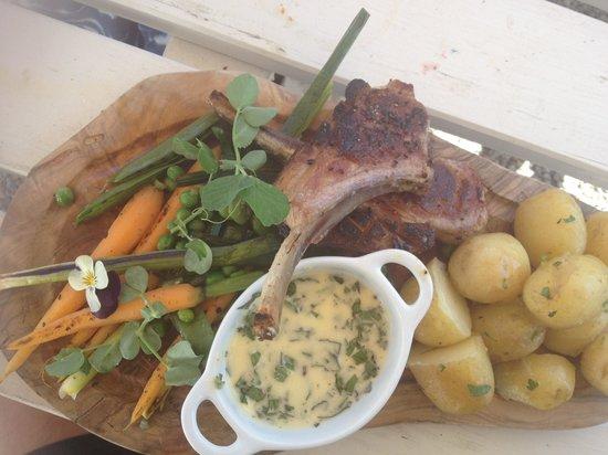 Woodlands Bistro: Lamb chops