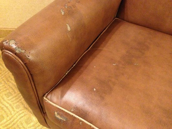 Homewood Suites by Hilton Atlanta-Peachtree Corners/Norcross : Aged armchair