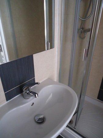 Hillingdon Prince Hotel: Sink & Shower