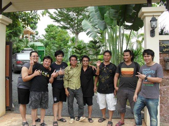 Jutamard Khaoyai Resort: บรรยาการบ้านสวน ร่มรื่นร่มเย็น สงบ