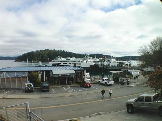 The Island Inn at 123 West: Our view from Sweet 1