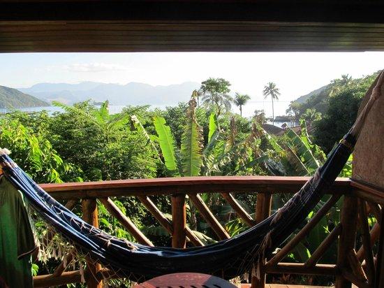 Pousada Naturalia: View from the Balcony