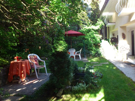 Hotel Romantik: Hotelowe patio 2
