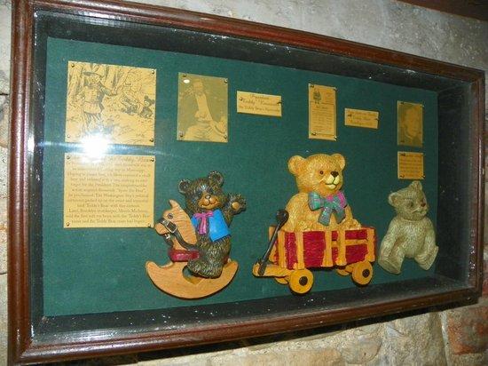Newgrange Lodge: Teddybear heaven