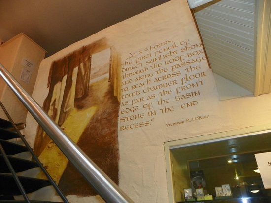 Newgrange Lodge: Interesting read from the stairs