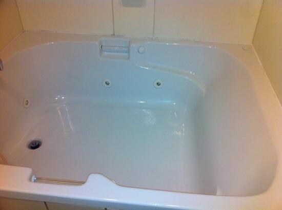 Comfort Inn Aikens Center: nice clean hot tub!