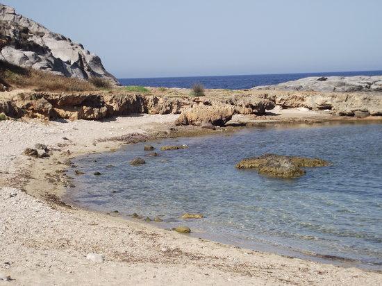 Cala Sapone: spiaggia