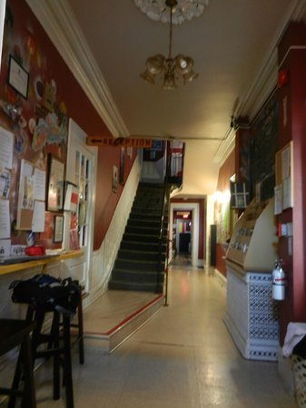 HI-Halifax Heritage House Hostel: from the entrance