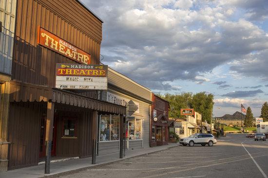 Downtown Ennis Montana