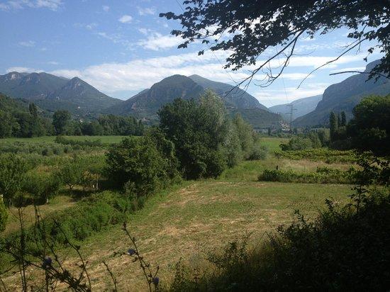 I terzieri: Il paesaggio visto del GreenWay del Nera