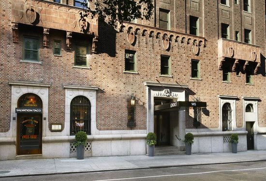 Pod 39 Hotel: Hotel Entrance