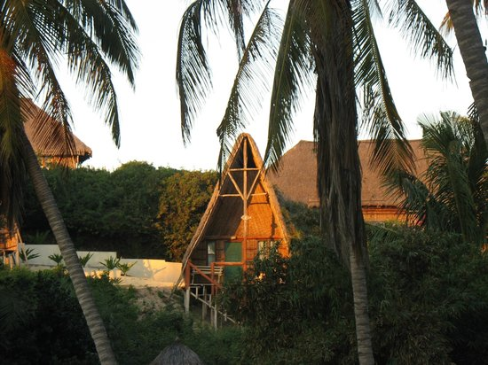 Bamboozi Beach Lodge: Bamboozi's island-like feel.