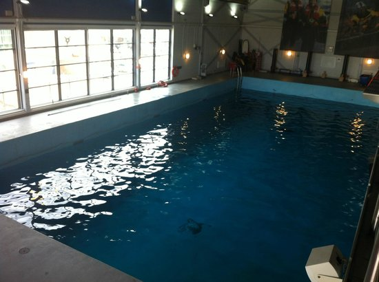 RNLI College Discovery Tour: The training pool.