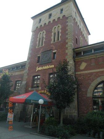 ACHAT Comfort Dresden: Ресторан, который по соседству