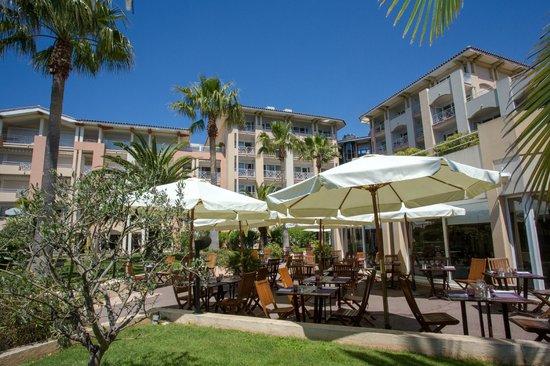 terrasse foto mercure thalassa port frejus fr 233 jus tripadvisor