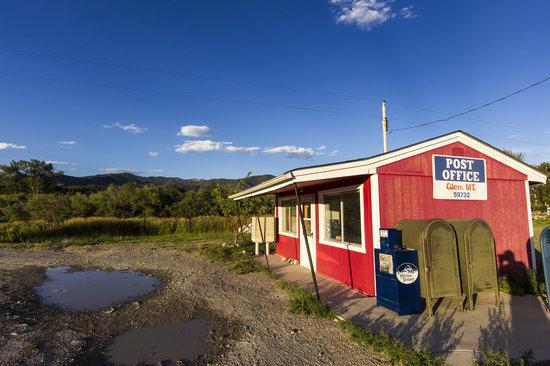 Glen Rural Post Office, near Dillon, Montana