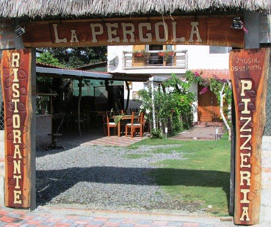 Atacames, Ecuador: La Pergola, Ristorante Pizzeria ITaliano, in Tonsupa Ecuador