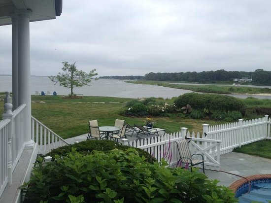 Seatuck Cove House Waterfront Inn: View from Patio