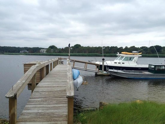 Seatuck Cove House Waterfront Inn: Dock on property