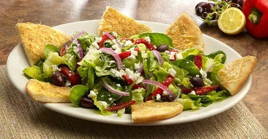 Mediterranean Salad Picture Of Bostons Restaurant Sports Bar