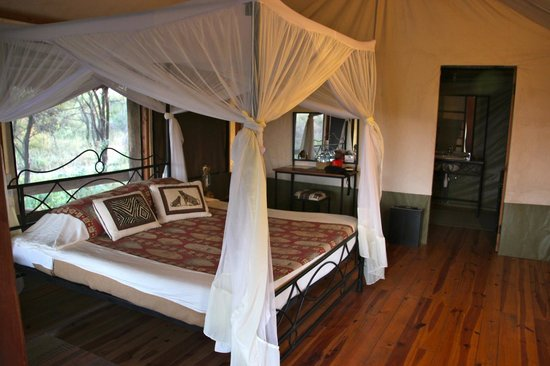 Lake Burunge Tented Camp: Habitación