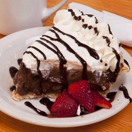 Chocolate Pie Photo De Bakers Kitchen New Bern Tripadvisor