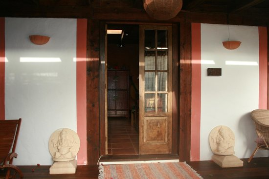 Casa el Morro: Entrance of one of the apartments