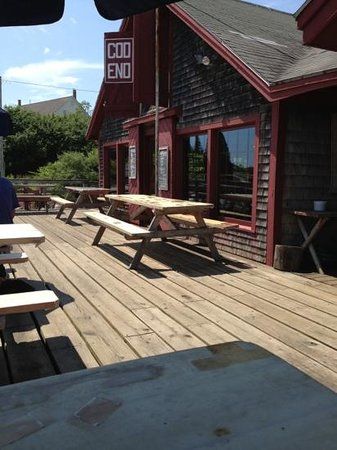 Cod End: great outdoor dining