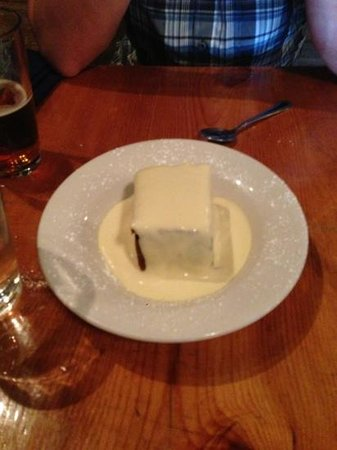 Rock Inn Mountain Tavern: bread pudding