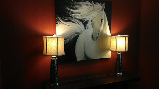Hampton Inn & Suites I-35 / Mulvane : Great Horse Pictures