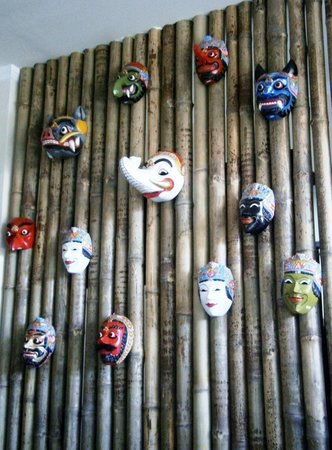 The Heritage Kitchen and Gallery: Balinese and Javanese masks