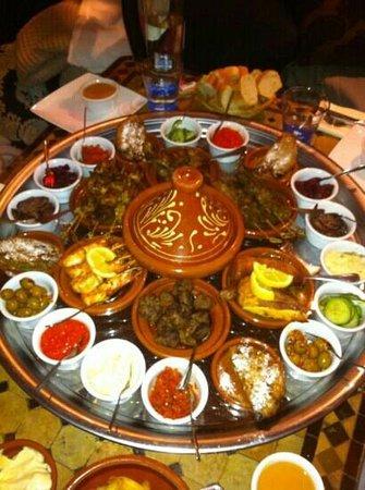Chomicha: Heerlijke Marokkaanse tapas!
