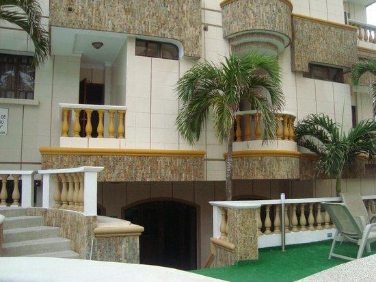 Hotel American Golf: junto a la habitacion...