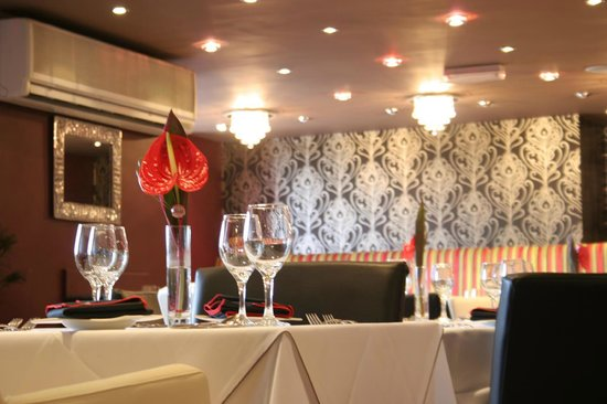 Panache Lichfield: Top Dining Area