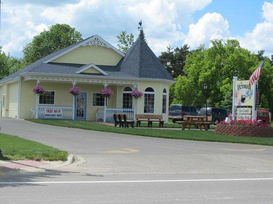 Hale, Мичиган: The Victorian Cafe